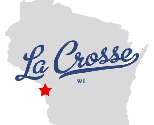 LaCrosse Wisconsin map