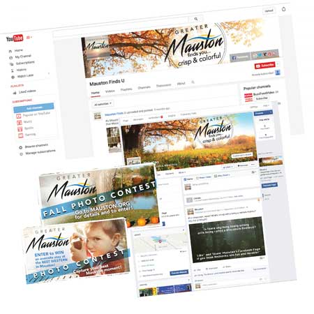 Greater Mauston WI branding