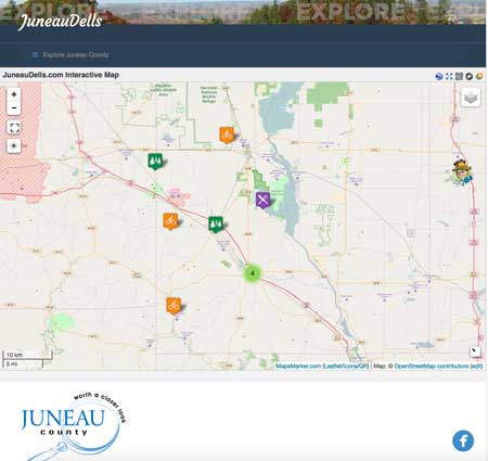 JuneauDells.com interactive map